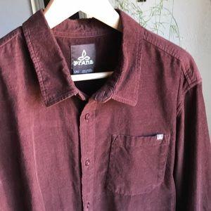 Prana Men's Long-Sleeve Button-Down Shirt